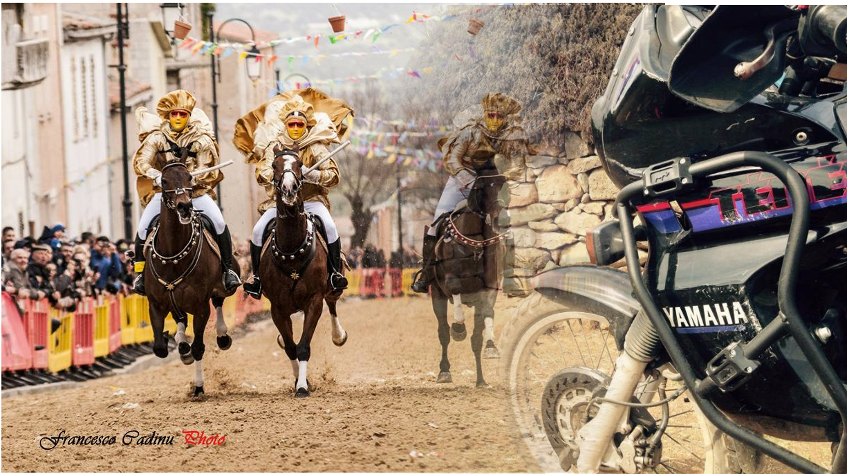 Carrasecare Tour, the Great Motorbike Tour of Carnival in Sardinia